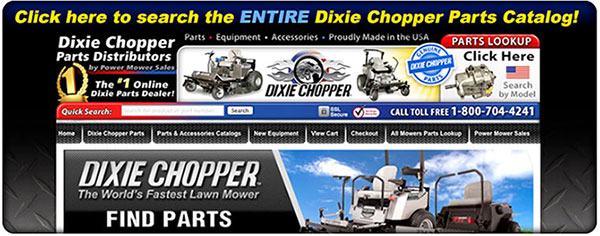 Dixie Chopper Parts Distributor