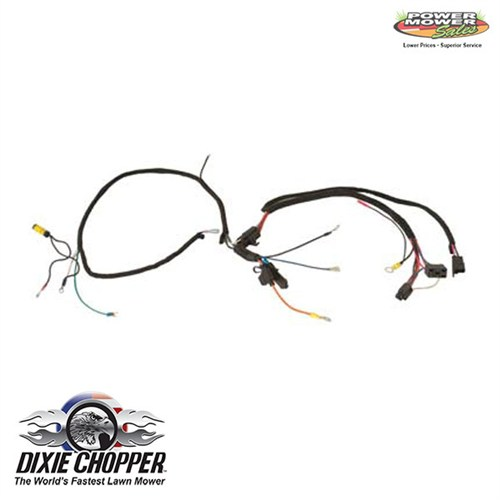 500028 dixie chopper run wiring harness