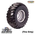 Genuine Dixie Chopper Silver Eagle Tire 24x11x10 For Dixie Chopper Lt1800-34, Lt1800-44 & Others Lawn Mowers / 400153