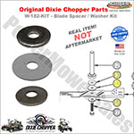 Blade Mounting Kit / Dixie Chopper W-182-KIT