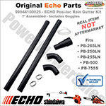 99944100025 - Echo Rain Gutter Cleaning Kit (Posi-Loc Tubes)