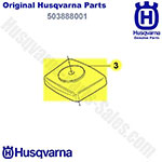 Husqvarna Air Filter Cover For String Trimmers & Hedge Trimmers / 503888001