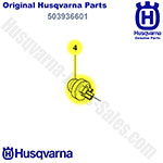 Husqvarna Replacement Air Purge Bubble For Husqvarna 435, 440 Chainsaws & Others / 503936601