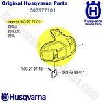 Husqvarna Part Number 503977101 Protector