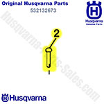 Husqvarna 532132673 Clevis Pin For Rear-Tine Tillers