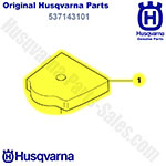 Genuine Husqvarna Oem Air Filter For Husqvarna Cutters, Trimmers, Pole Saws, Edgers (325lx, 323r, 326hd) / 537143101