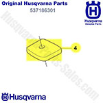 Husqvarna Part Number 537186301 Air Filter