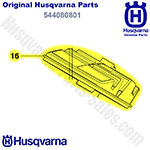 Husqvarna Replacement Air Filter - Nylon (80) For Husqvarna 445, 450 Chainsaws & Others / 544080801