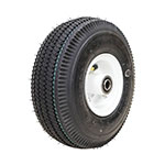 Wheel Assembly / 4.10x3.50-4 Sawtooth