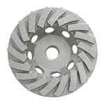 Turbo Cup Wheel / 4 inch Turbo Cup Wheel 18 Segments