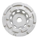 Double Row Cup Wheel / 4 inch Double Row Cup Wheel