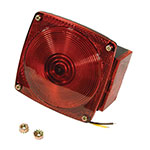 Combination Tail Light / Incandescent W/License Light