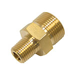 Fixed Coupler Plug / 1/4 inch Male Inlet