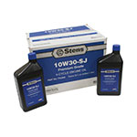 4-Cycle Engine Oil / 10W30-SJ Wt, Twelve 32 oz. bottles