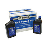 4-Cycle Engine Oil / 10W40-SJ Wt, Twelve 32 oz. bottles