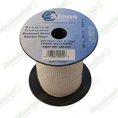 100' Diamond Braid Starter Rope / #4 1/2 Diamond