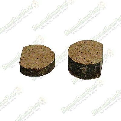 Replacement Brake Pads / 1 1/16 inch OD x 9/32 inch THK