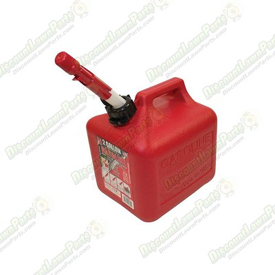 2 Gallon Plastic Fuel Can /