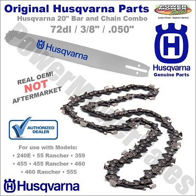 Chain & Bar Combo / Husqvarna 501846572-KIT