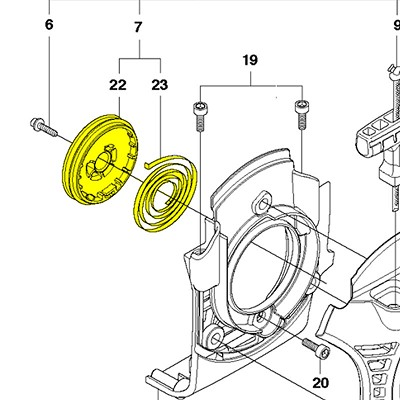 Starter Pulley - 537332303
