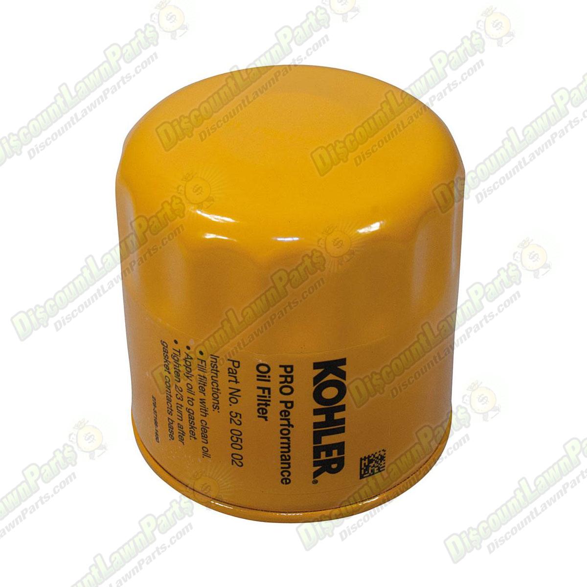 Oil Filter / Kohler 52 050 02-S