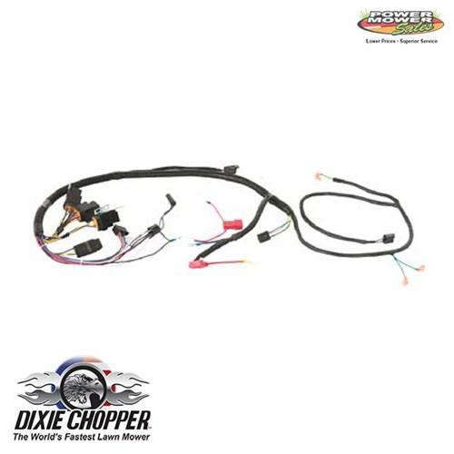 dixie chopper magnum/ie wiring harness  500086