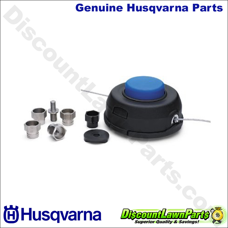 Husqvarna T35 Head With Line In Clam 537388101