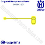 Oem White Fuel Filter Husqvarna/Jonsered