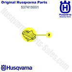 Genuine Husqvarna Start / Stop Switch / Button For 325 He, 325 Hd, 325 Hda Hedge Trimmers And Others / 537419001