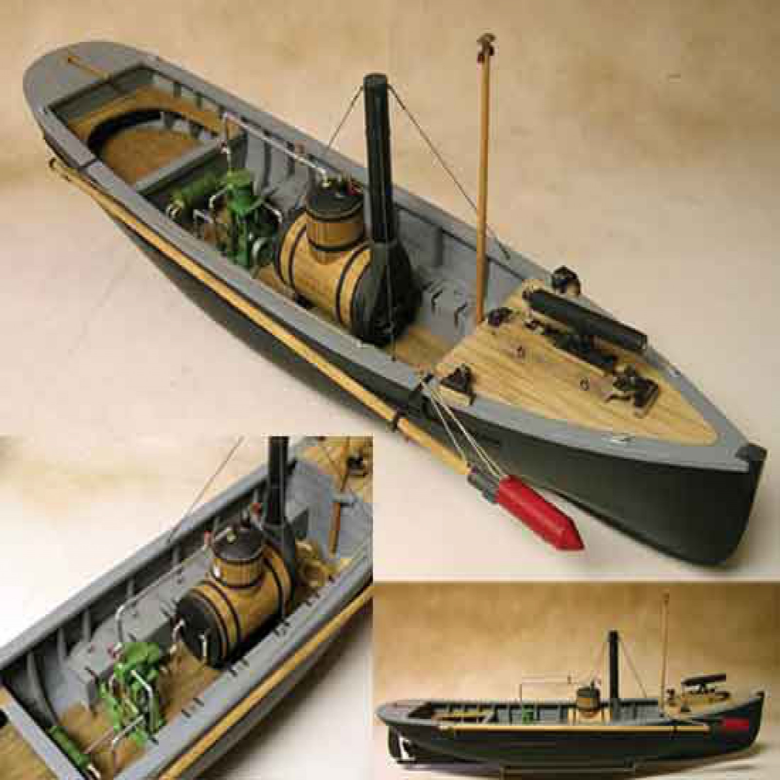 Usn Picket Boat 1 Wooden Ship Model Kit 1 24 Scale