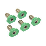 Spray Nozzle Set / 4.0 Size, Green, 5 Pack