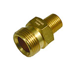 Twist Connector / 1/4 inch M Inlet, 22mmx1.5 M Outlet