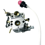 Zama Replacement Carburetor C1m-W26c For Poulan Csi, P3314, P3416, Pp4218 Airhead Chainsaws & Others