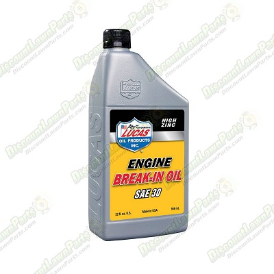SAE 30 Break-in Oil / 1 Quart Bottles/Case Of 6