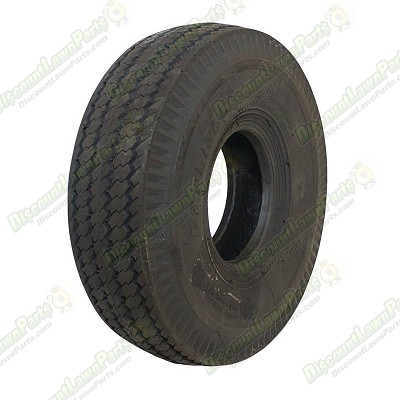 Tire / 4.10x3.50-4 Saw Tooth 2 Ply