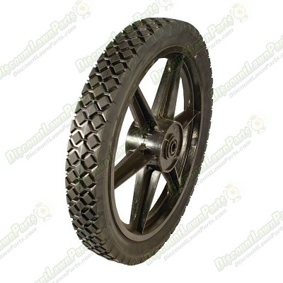 High Wheel Plain Bore / 14x1.75 Diamond Tread